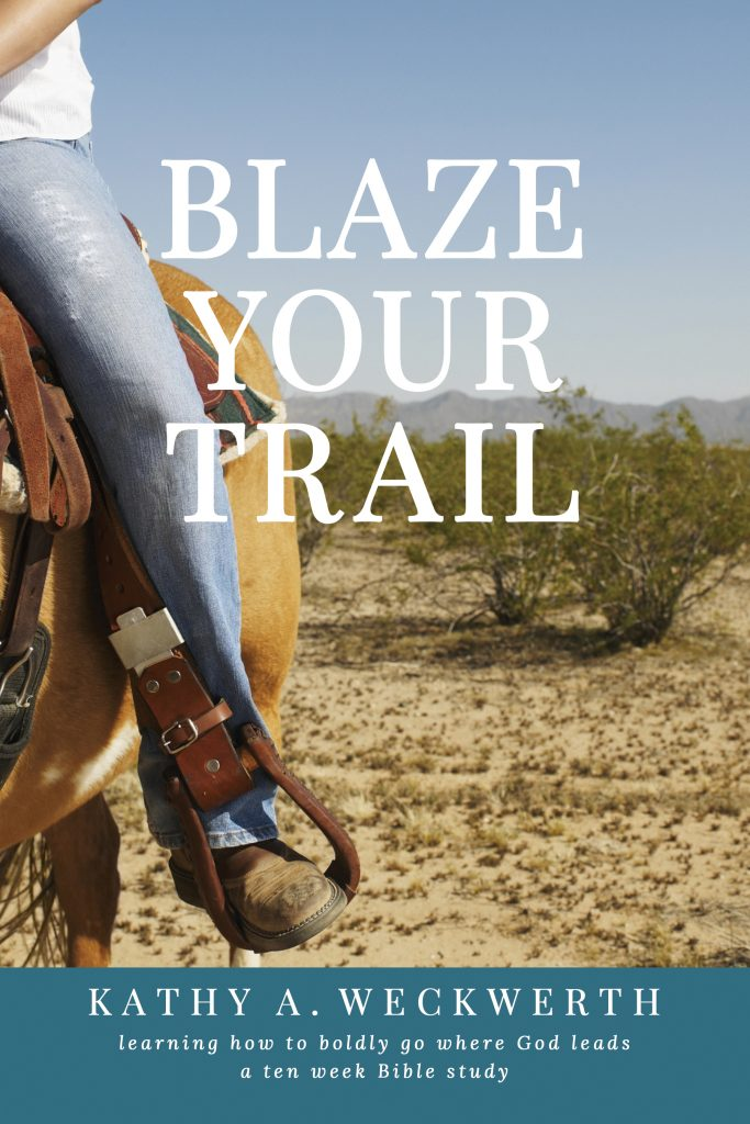 Blaze Your Trail - Kathy Weckwerth